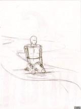 Maquette (crayon « Méditation ») - 2-A