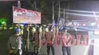 Polres Jombang Gelar Patroli Gabungan PPKM level 3 dan 4.Jombang