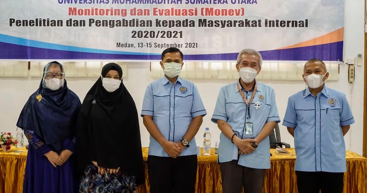 LPPM UMSU Lakukan Monitoring dan Evaluasi Hibah Internal 2020/2021
