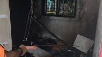 Satu Unit Rumah di Desa Suka Makmur Hangus Dilalap Si Jago Merah
