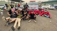 PMI Tangsel Dukung Kesuksesan Bodisa Drag Race 2021