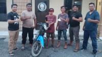 Jual Sepeda Motor Curian, Warga Desa Rawang Baru Diamankan Polsek Pulau Raja