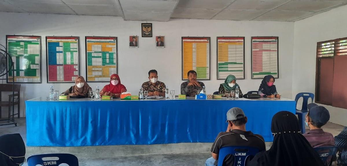 Camat Kisaran Barat Pimpin Rapat Koordinasi di 2 Kelurahan