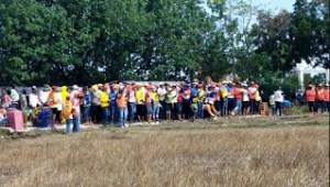 Polres Pamekasan Biarkan Kerumunan Acara Lomba Merpati SI Langar Prokes