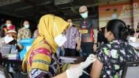 Vaksinasi di Jateng Capai 8,7 Juta Akan terus di Genjot