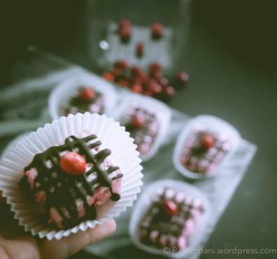 Cranberry marshmallows