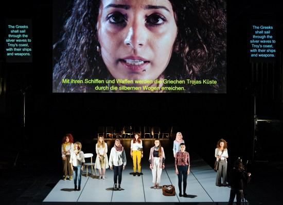 IPHIGENIE | Omar Abusaada | Volksbühne Berlin 09/2017 © Gianmarco Bresadola