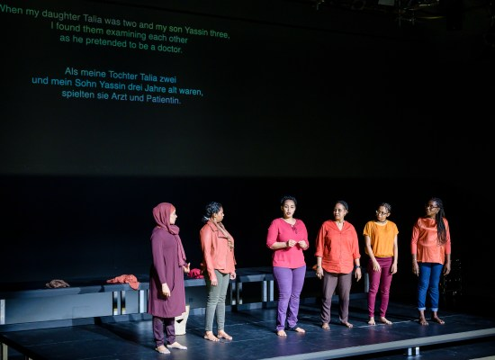 MY BODY BELONGS TO ME | Laila Soliman, Ruud Gielens | Festival Theaterformen 2019 © Moritz Küstner