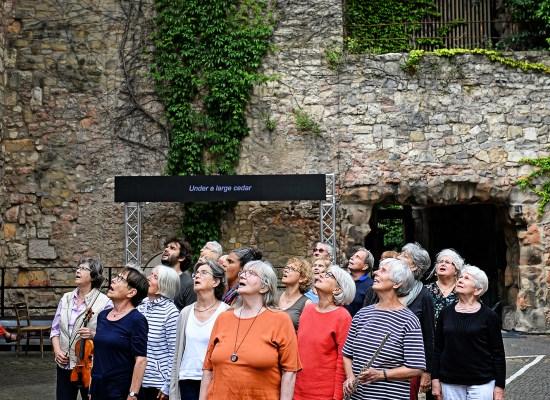DIE GESCHWINDIGKEIT DES LICHTS | Marco Canale | Festival Theaterformen © Andreas Etter