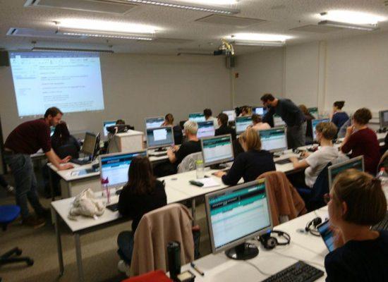 Formation sur notre logiciel de surtitrage Spectitular à l'université de Leipzig