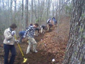 Volunteers will help reroute Wilderness Falls Trail