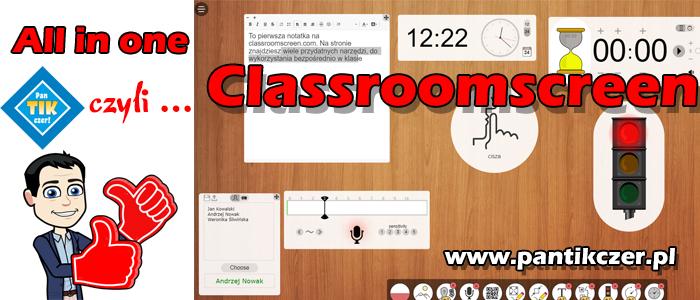 Classroomscreen czyli all in one dla każdego nauczyciela