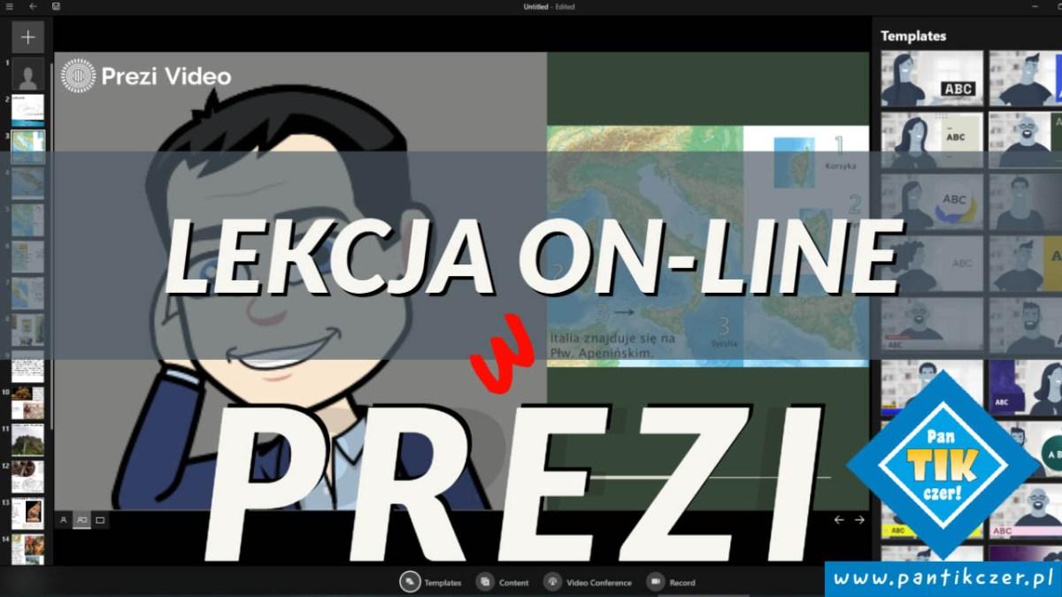 Jak prowadzić lekcje on-line w … Prezi Video