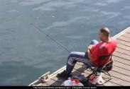 pescando en la ría - Puerto interior de Ferrol - fotografía por Fermín Goiriz