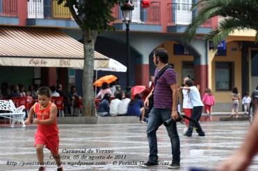fotos del carnaval de verano 2011 - Cedeira, 05 de agosto de 2011 - fotografía por Fermín Goiriz Díaz