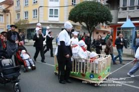 Desfile de Carnaval en Cedeira, 18 de febrero de 2012 - Carnaval Cedeira 2012 - Galicia -fotografía por Fermín Goiriz Díaz (11)