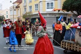 Desfile de Carnaval en Cedeira, 18 de febrero de 2012 - Carnaval Cedeira 2012 - Galicia -fotografía por Fermín Goiriz Díaz (85)