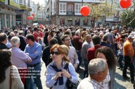 Fotografías manifestación 29-M en Ferrol - +40.000 manifestantes - Ferrolterra - contra la reforma laboral del PP - Fotografía por Fermín Goiriz Díaz (28)