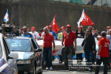Fotografías manifestación 29-M en Ferrol - +40.000 manifestantes - Ferrolterra - contra la reforma laboral del PP - Fotografía por Fermín Goiriz Díaz (34)