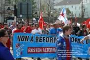 Fotografías manifestación 29-M en Ferrol - +40.000 manifestantes - Ferrolterra - contra la reforma laboral del PP - Fotografía por Fermín Goiriz Díaz (35)