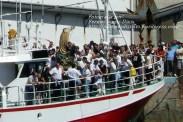 Procesión Marítima en honor de la Patrona de Cedeira - Cedeira, 16 de agosto de 2012 - fotografía por Fermín Goiriz Díaz (126)