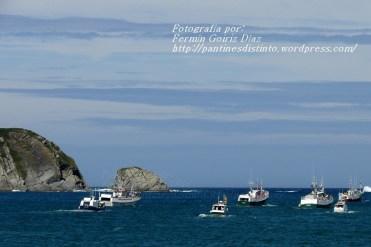 Procesión Marítima en honor de la Patrona de Cedeira - Cedeira, 16 de agosto de 2012 - fotografía por Fermín Goiriz Díaz (225)