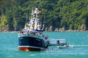 Procesión Marítima en honor de la Patrona de Cedeira - Cedeira, 16 de agosto de 2012 - fotografía por Fermín Goiriz Díaz (310)