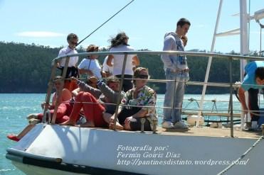 Procesión Marítima en honor de la Patrona de Cedeira - Cedeira, 16 de agosto de 2012 - fotografía por Fermín Goiriz Díaz (430)