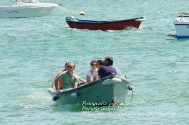 Procesión Marítima en honor de la Patrona de Cedeira - Cedeira, 16 de agosto de 2012 - fotografía por Fermín Goiriz Díaz (466)