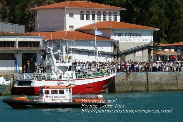 Procesión Marítima en honor de la Patrona de Cedeira - Cedeira, 16 de agosto de 2012 - fotografía por Fermín Goiriz Díaz (76)