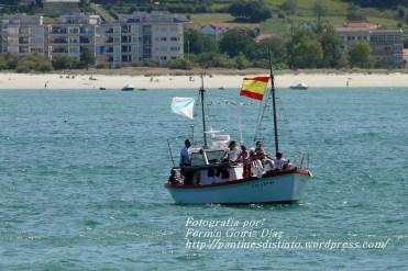 Procesión Marítima en honor de la Patrona de Cedeira - Cedeira, 16 de agosto de 2012 - fotografía por Fermín Goiriz Díaz (86)
