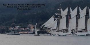 Buque Escuela Juan Sebastián de Elcano saliendo de la ría de Ferrol - fotografía por Fermín Goiriz Díaz, 16-02-2013 (34)