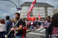 Folga Comarcal Ferrol, Huelga General Ferrol, 12 de xuño de 2013 - manifestación Ferrol, 12-06-2013 - fotografía por Fermín Goiriz Díaz(24)
