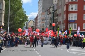 Folga Comarcal Ferrol, Huelga General Ferrol, 12 de xuño de 2013 - manifestación Ferrol, 12-06-2013 - fotografía por Fermín Goiriz Díaz(26)