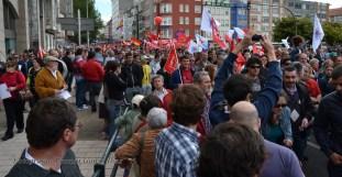 Folga Comarcal Ferrol, Huelga General Ferrol, 12 de xuño de 2013 - manifestación Ferrol, 12-06-2013 - fotografía por Fermín Goiriz Díaz(53)