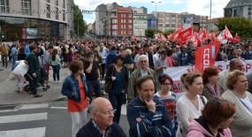 Folga Comarcal Ferrol, Huelga General Ferrol, 12 de xuño de 2013 - manifestación Ferrol, 12-06-2013 - fotografía por Fermín Goiriz Díaz(87)