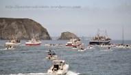 Procesión marítima en honor a la virgen del mar - Cedeira, 16-08-2013 - Fotografía por fermín Goiriz Díaz (52)