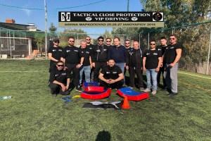 Tactical Close Protection – VIP Driving: Ένα ακόμα Σχολείο Ασφαλείας ολοκληρώθηκε με επιτυχία!