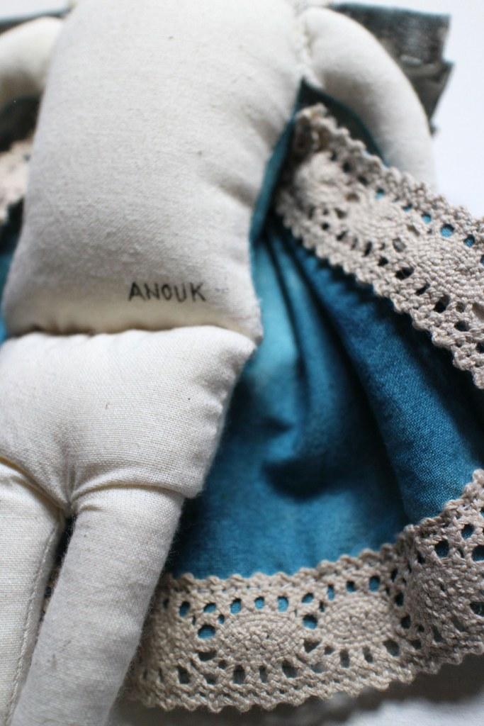 fabric doll girl