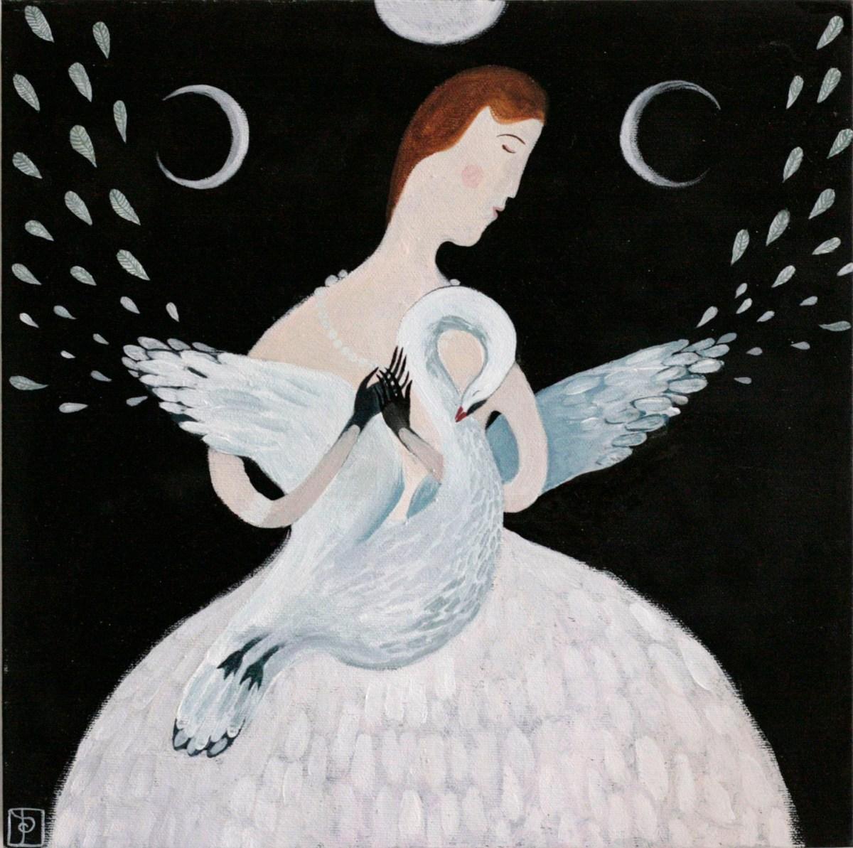 Anna Saint of Swans painting 07