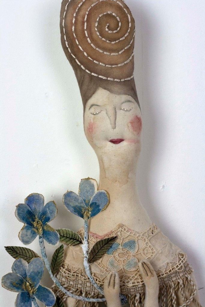 textile lady