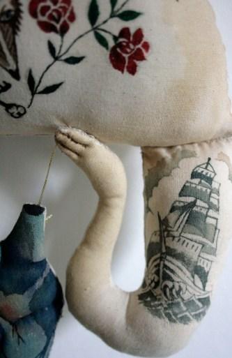 tattoo doll