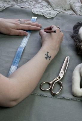 making dolls clothes