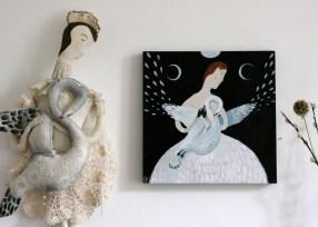 Anna Saint of Swans painting 03
