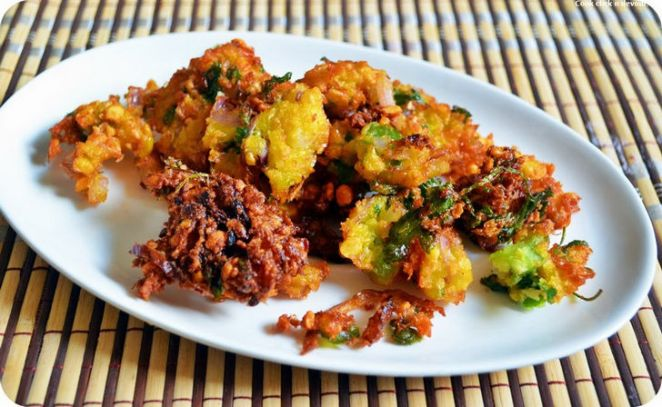Sweet Corn-Channa Dal Fritters Recipe.