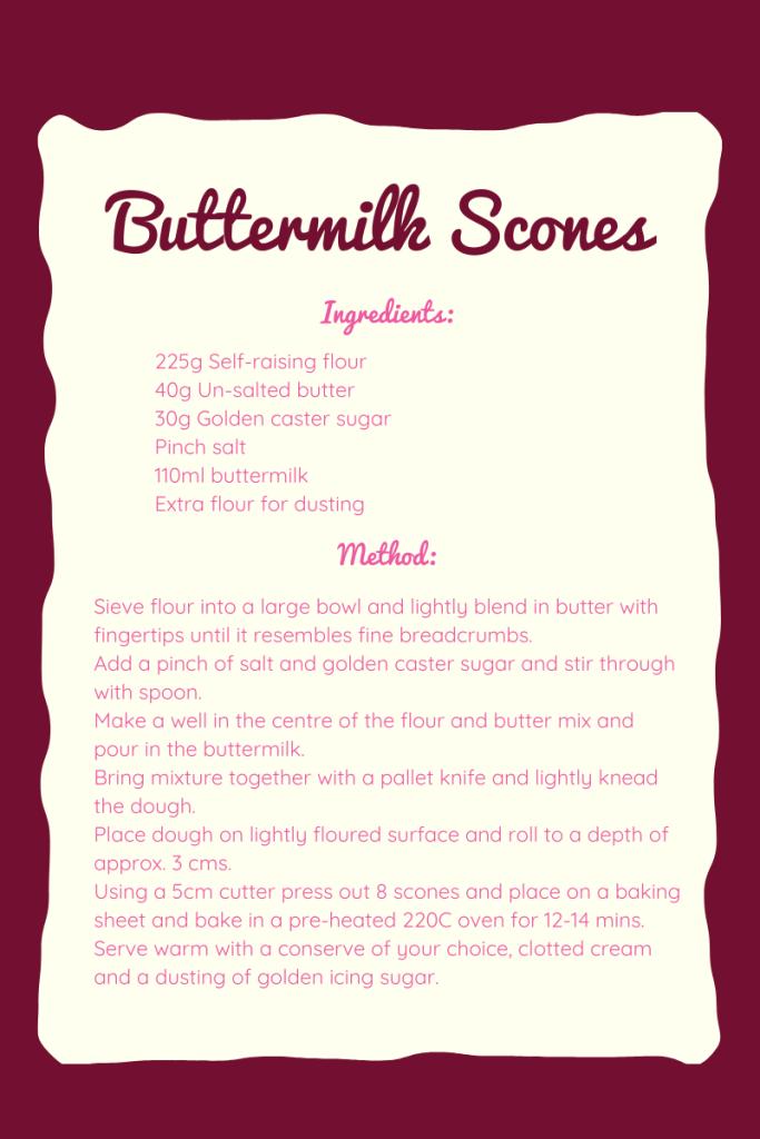 Buttermilk Scone Recipe