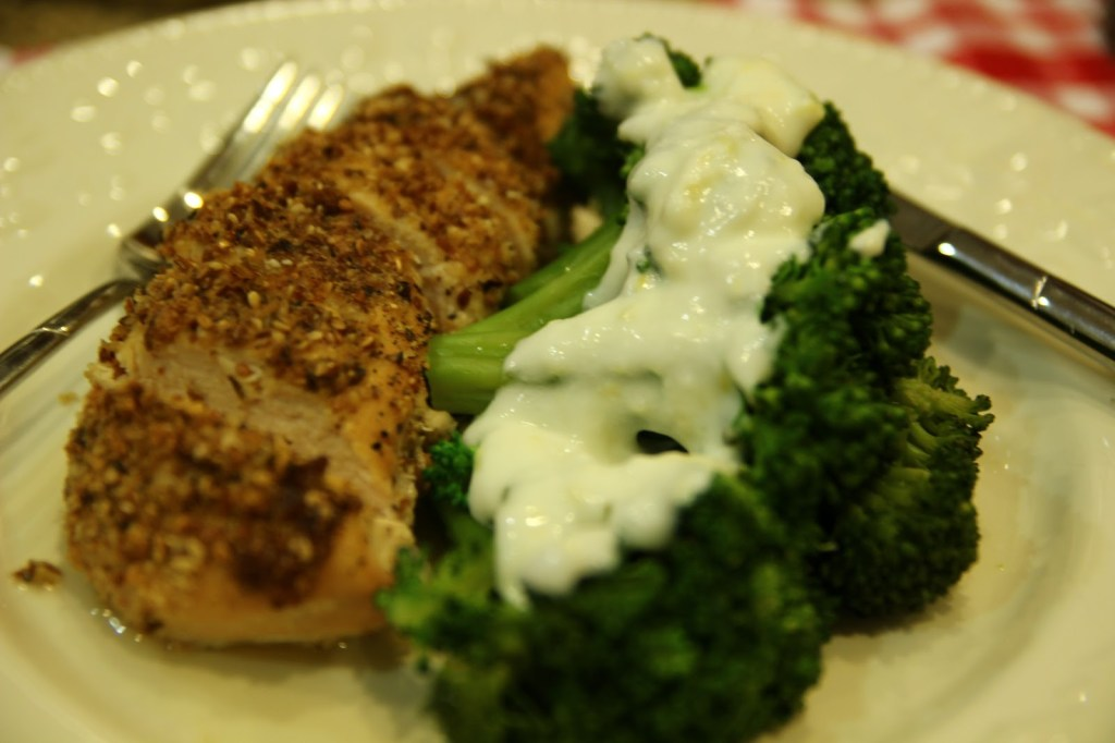 Almond and Seed-crusted Chicken