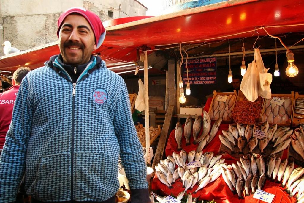 Karaköy fish market