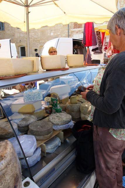 Choosing cheese