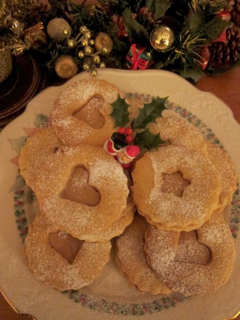Hazelnut Christmas cookies